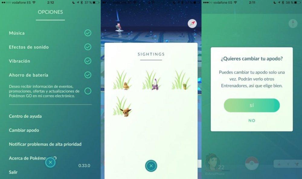 Pokémon GO 1.3.0