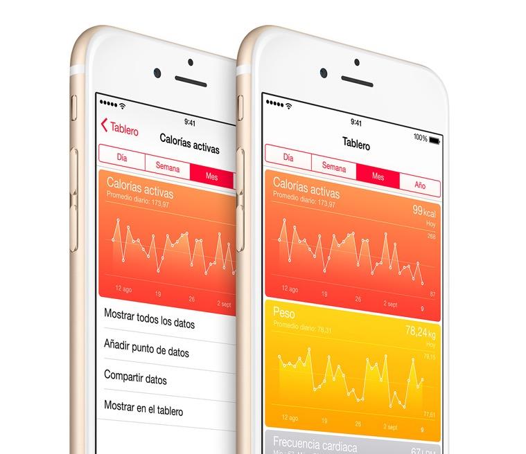 Salud iOS 8