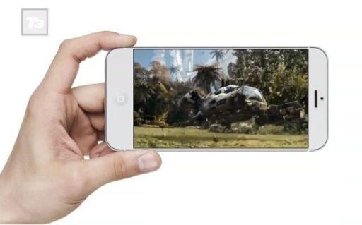iPhone 5,7 pulgadas concepto