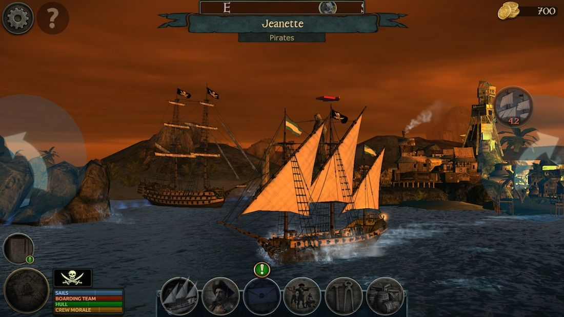 Tempest: Pirate Action RPG - Juego de piratas