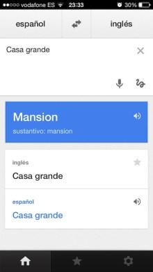 Traductor de Google 1