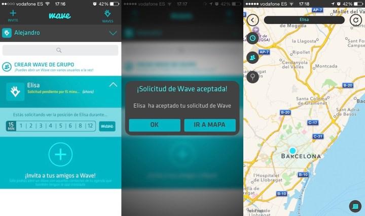 La aplicación Wave, que sirve para ubicar a nuestros conocidos se ha convertido en multiplataforma