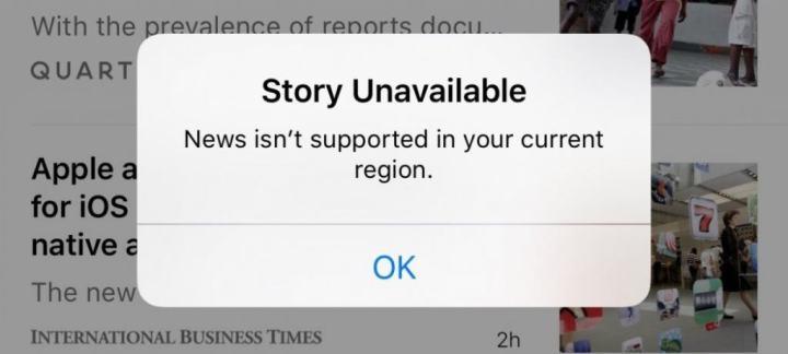 app Noticias en China