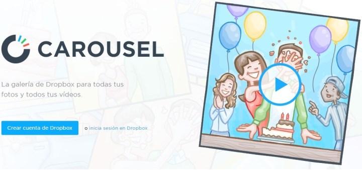 Carousel, la galería de Dropbox se hace compatible con el iPad