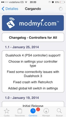 controllers for all 1.1