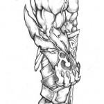 demonio perfil mini