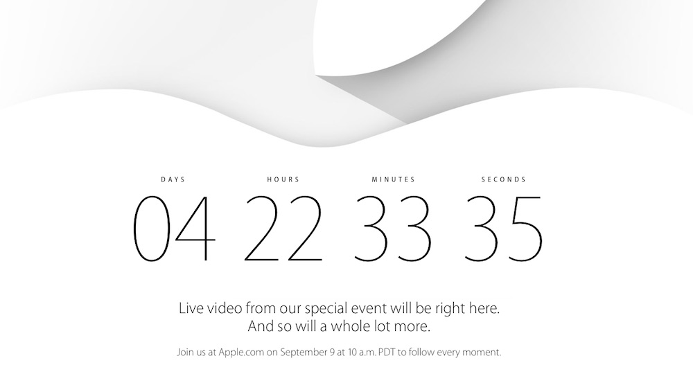 evento iPhone 6 streaming