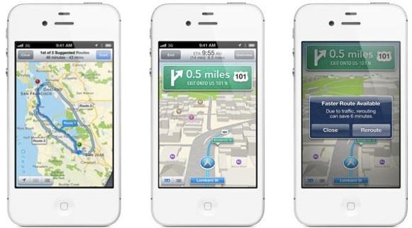 Apple Mapas