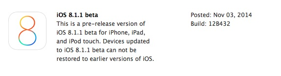 iOS 811 beta 1