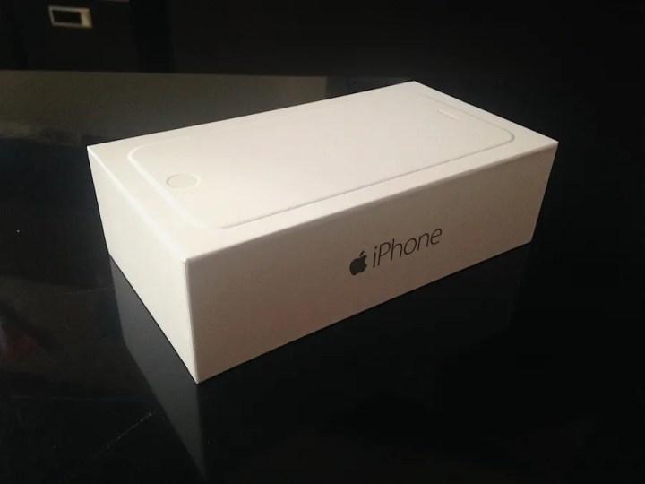 iPhone 6 caja