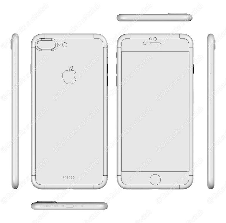 Esquemas iPhone 7 Pro