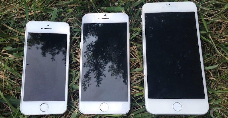iphone 6 y iphone 6s plus tamaño