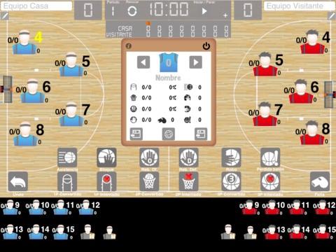 Letsbasket Controla Las Estadísticas De Cualquier Partido De Baloncesto