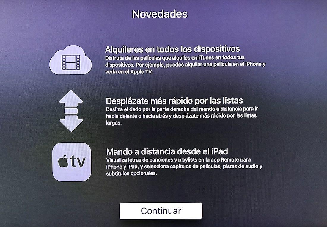 tvOS 10.2 para Apple TV