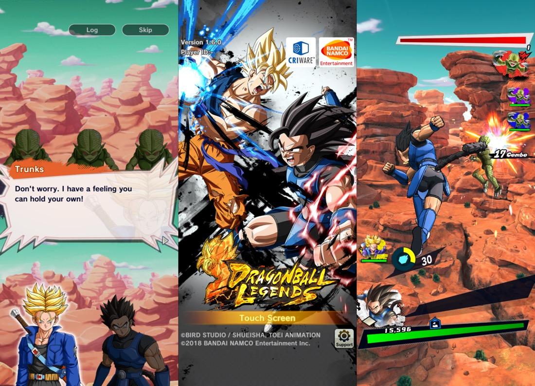 Dragon Ball Legends - iPhone X