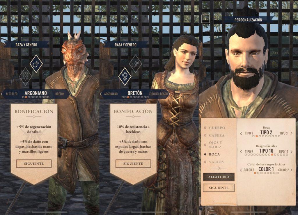 Elder Scrolls: Blades personajes