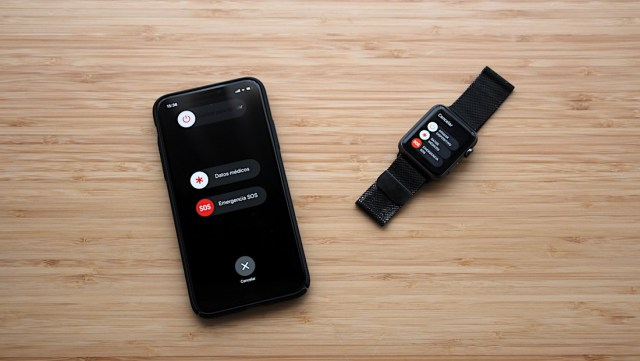 Emergencia SOS - iPhone X y ©Apple Watch