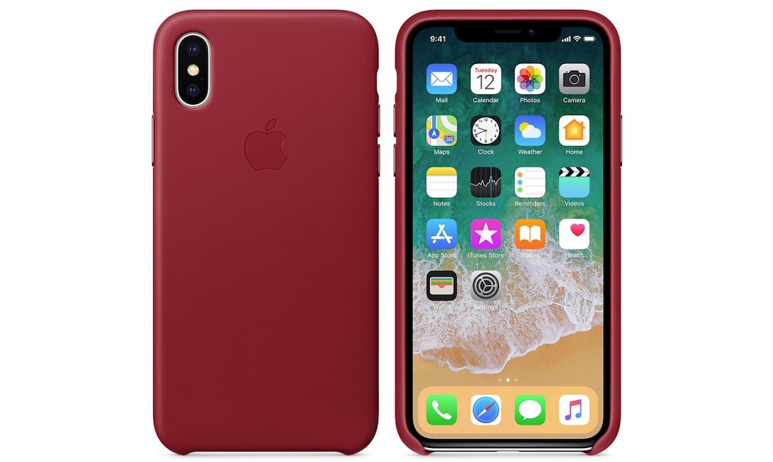 Leather Folio PRODUCT RED iPhone X
