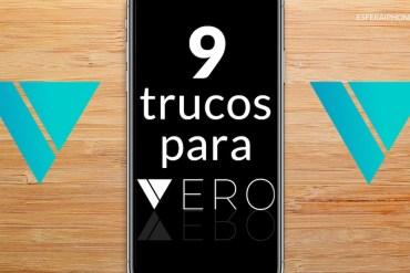 Trucos app Vero (red social)