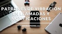 Patrones de vibración iOS 11