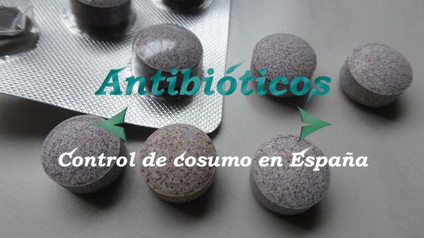 antibióticos control consumo