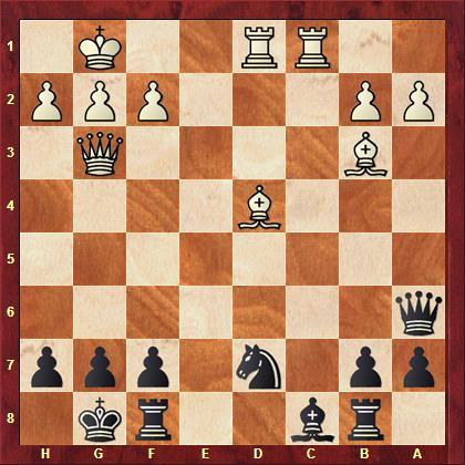 Aretz vs Falk nach 23. Dg3
