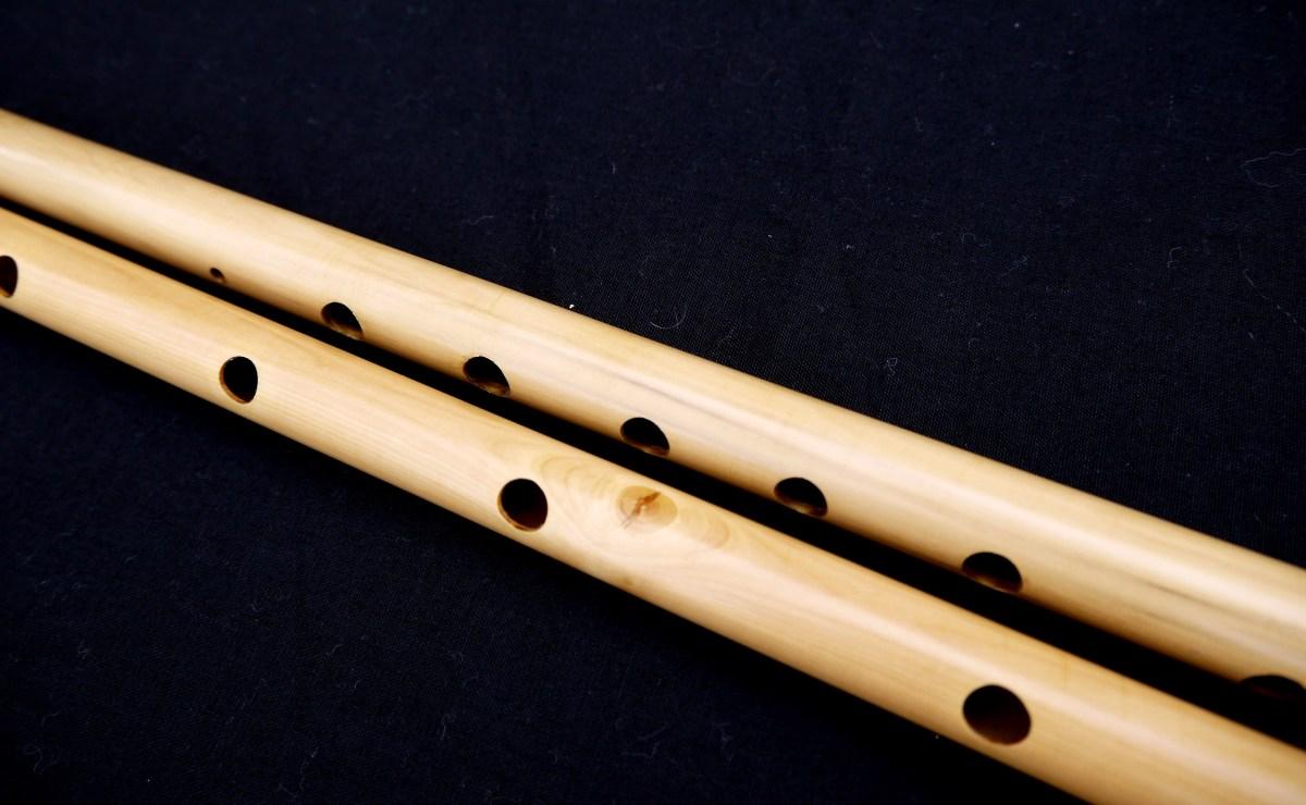 holes double-flute