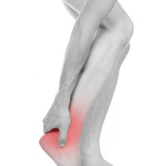 male foot, heel, feet