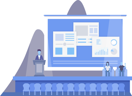 Site de conférence et événements meeting
