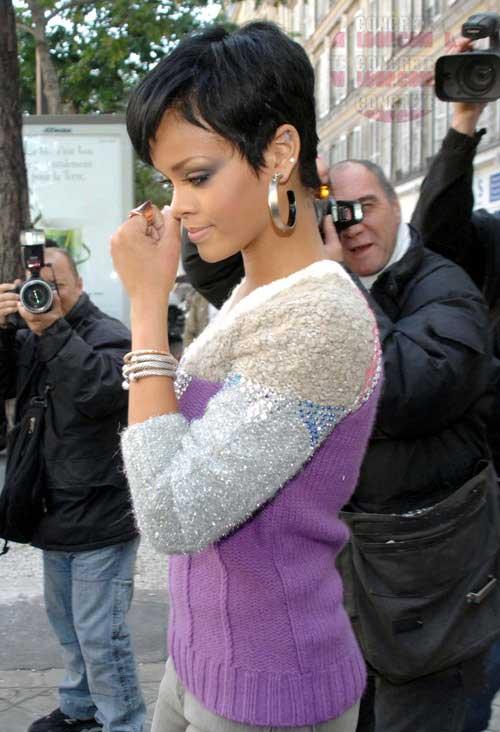 20 Best Rihanna Pixie Cuts Short Hairstyles Amp Haircuts 2018
