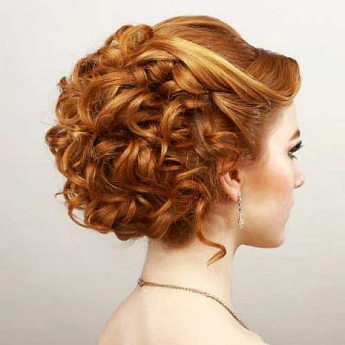 25 Cool Short Red Curly Hair Short Hairstyles Amp Haircuts