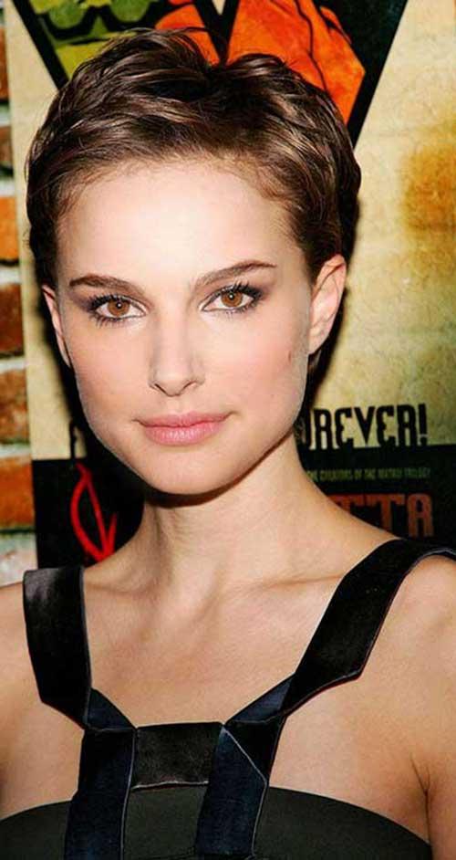 15 Nice Natalie Portman Pixie Cut Short Hairstyles