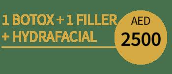 1 Botox 1 Filler + Hydrafacial