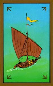 Le navire dans les cartes Indira