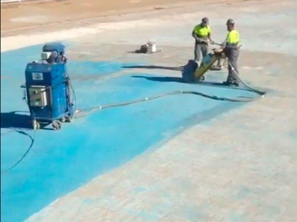 Granallado de suelos y pavimentos