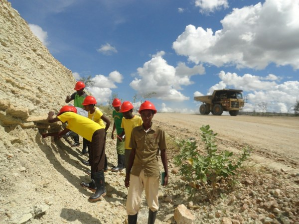 Field Work on Fossils Check By Dr Kafumu4