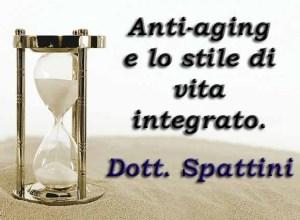 Libro – Anti-Aging e lo stile di vita integrato – Dott. Spattini