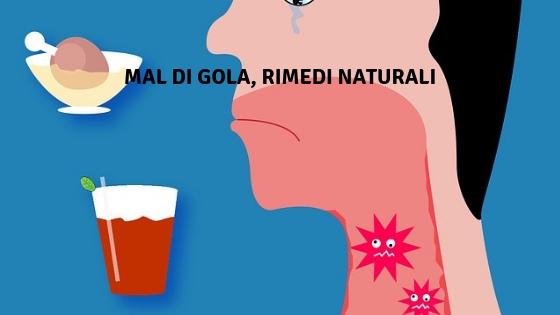 mal di gola rimedi naturali