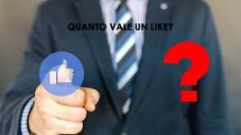 Like su Facebook, quanto vale?