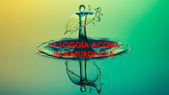 loggia acqua in naturopatia
