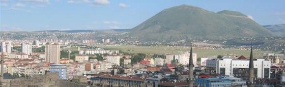 Kayseri - view from hilton city walls