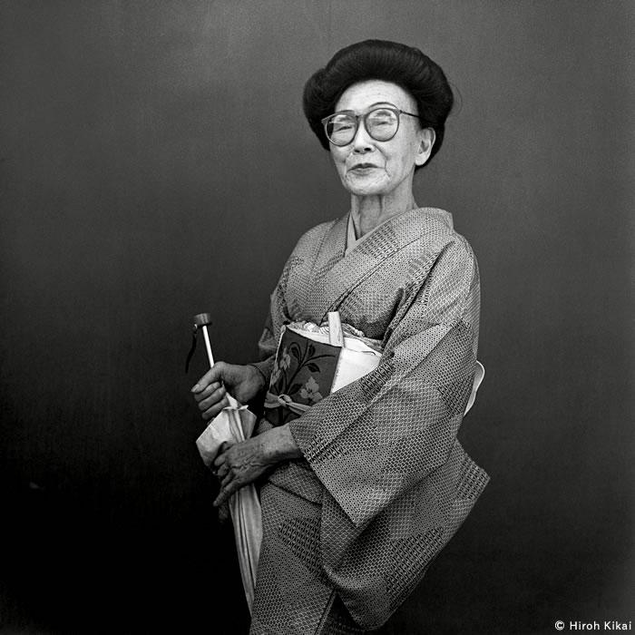 Instructor de danza japonesa 1986 © Hiroh Kikai