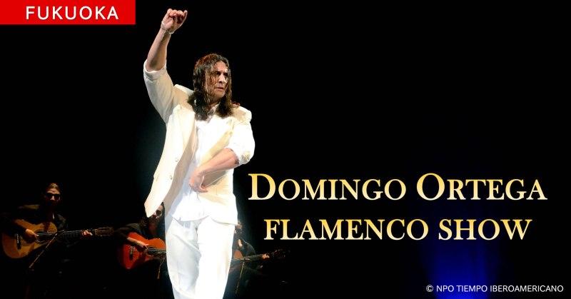 Domingo Ortega Flamenco Show en Fukuoka