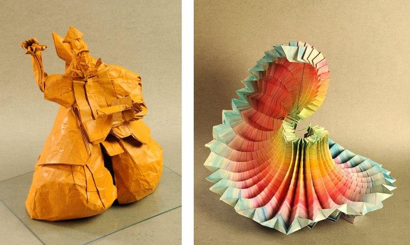 Exposición de Origami: Un mundo en papel plegado