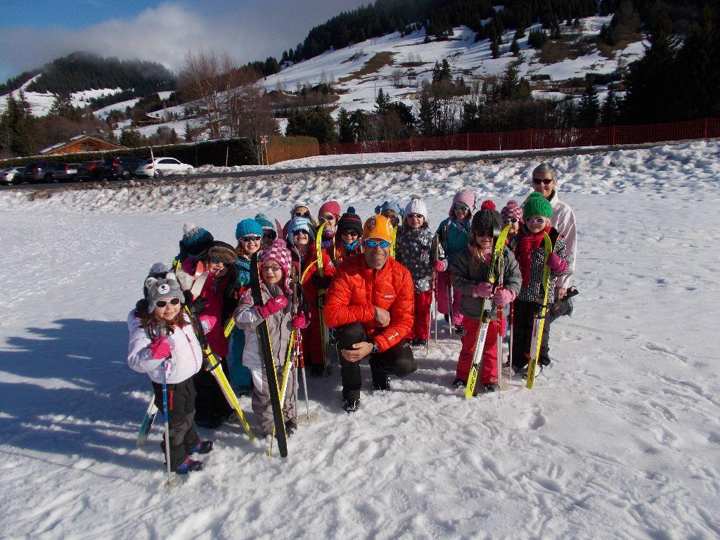 Première sortie de ski de fond des moyennes sections !