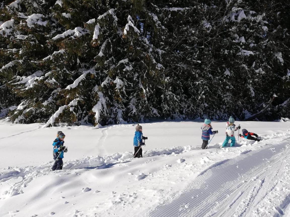 Ski de fond classe 3