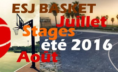 Stage de basket-ball (été 2016)