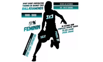 Tournoi Féminin 3×3 Ball4Diamonds samedi 10 février