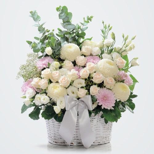 Splendid Grace funeral condolence flower basket | Condolence Flower | Eska Creative Gifting