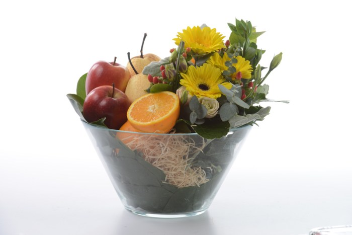 Vital Boost Fruits in Vase | Get Well Gifts | Eska Creative Gifting